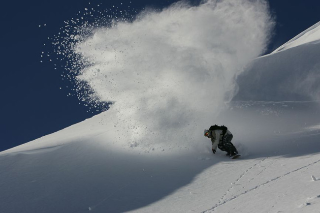 spray arlberg richard walch