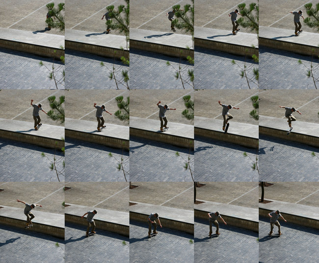nose wheelie nollie flip out photo by christian eberl